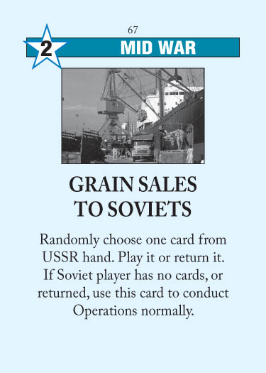 Grain Sales to Soviets