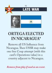 Ortega Elected in Nicaragua
