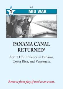 Panama Canal Returned