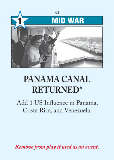 Panama Canal Returned