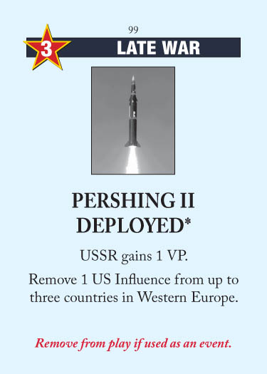 Pershing II Deployed