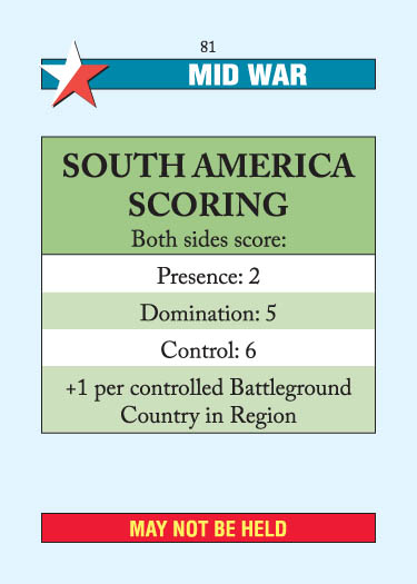 South America Scoring