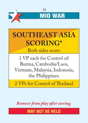Southeast Asia Scoring