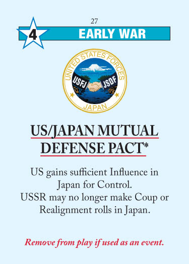 US/Japan Mutual Defense Pact